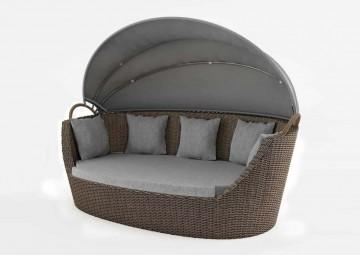 Садовый диван-кровать PORTOFINO песок