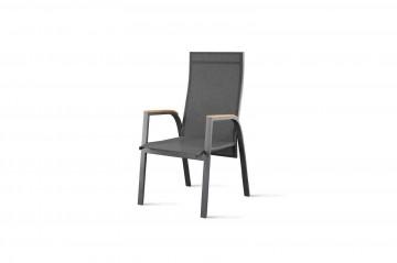 Садовое кресло ALICANTE teak - STONE&WOOD антрацит