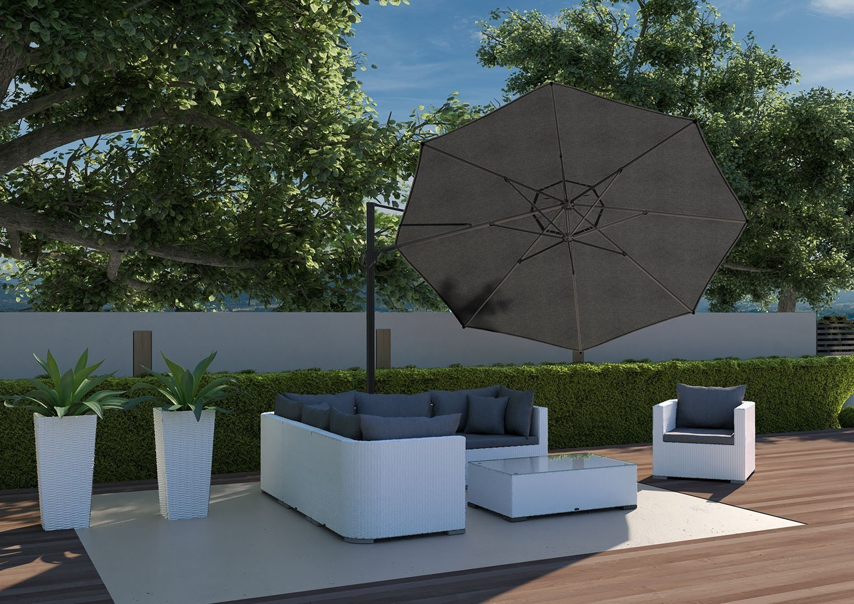 Садовый зонт Challenger T² Ø3.5 м