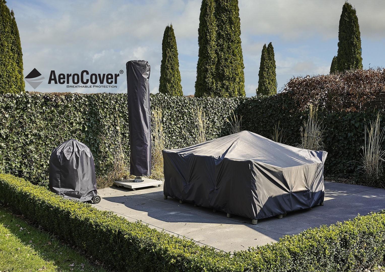 Чехол квадратный на садовую мебель 130x130x85 см