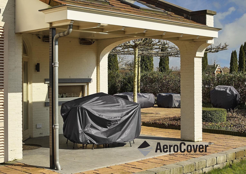 Чехол прямоугольный на садовый комплект 400x300x70 см