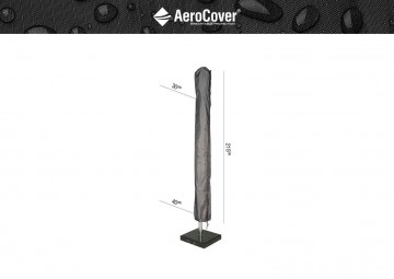 Чехол на садовый зонт с центральной ножкой 215x30/40 см