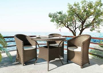 Мебель для балкона FILIP II ø90 песок
