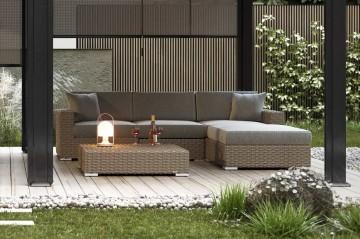 Мебель для улицы MILANO I Royal песок