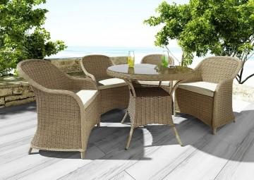 Мебель для балкона FILIP II + LEONARDO песок