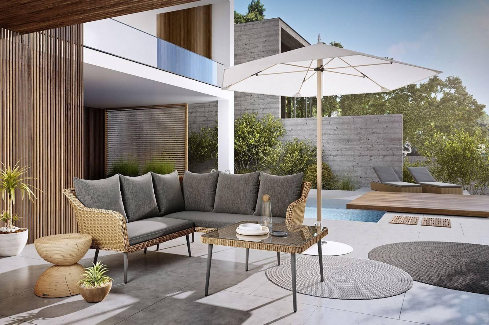 Комплект садовой мебели IMOLA песок