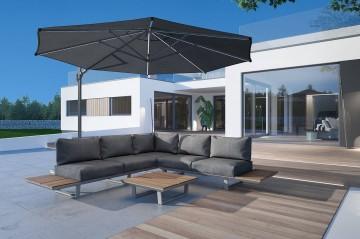 Комплект садовой мебели CORIA I grey
