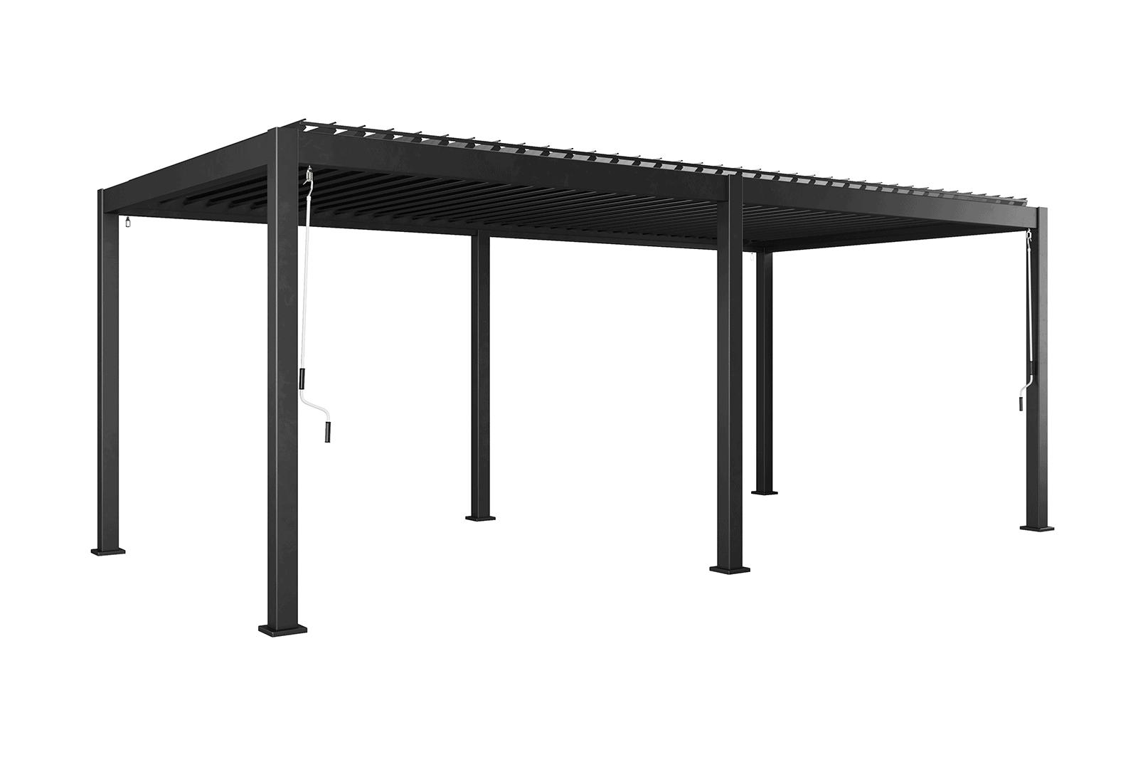 Навес для террасы Perara 300x600CM Grey