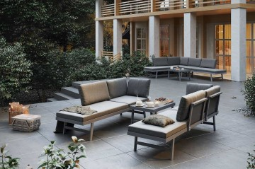Комплект садовой мебели MASCA серый