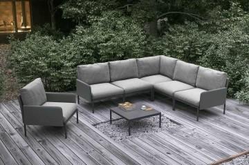 Комплект садовой мебели ARONA antracite