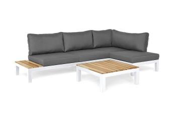 Комплект садовой мебели VITA I правый белый