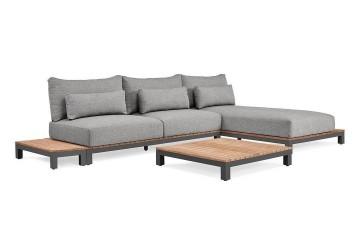 Комплект садовой мебели EVORA I антрацит