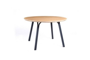 Садовый стол SIMI ⌀ 120 см Teak