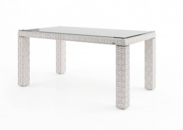 Садовый стол RAPALLO 160 см белый