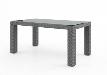 Садовый стол RAPALLO 160 см серый