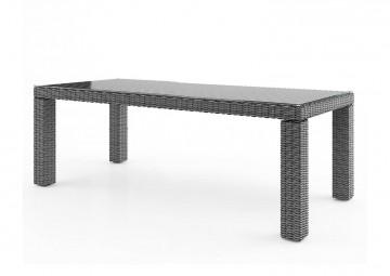Садовый стол RAPALLO 220 см серый