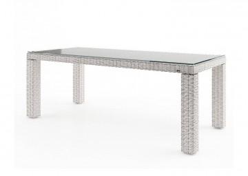 Садовый стол RAPALLO 220 см белый