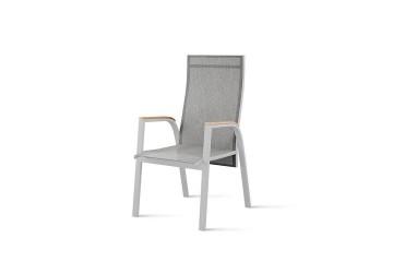 Садовое кресло ALICANTE teak - STONE&WOOD серый