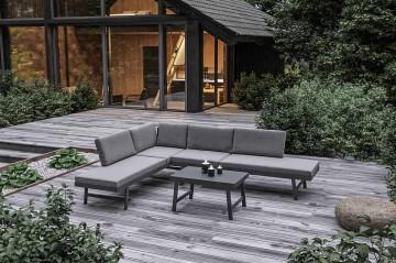 Комплект садовой мебели MASCA антрацит