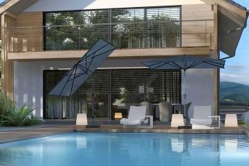 Садовый зонт Riva 2.5 х 2 м
