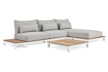 Комплект садовой мебели EVORA I белый