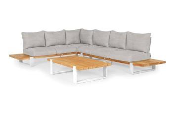Комплект садовой мебели NARDO II белый