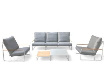 Комплект садовой мебели MERANO белый