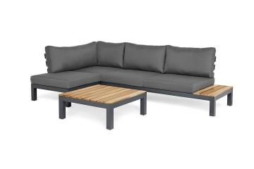 Комплект садовой мебели VITA I левый антрацит