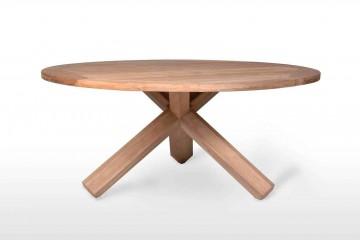 Садовый стол из тика BORDEAUX Ø150 см