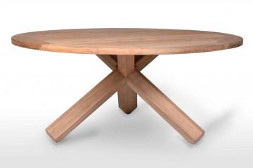 Садовый стол из тика BORDEAUX Ø170 см
