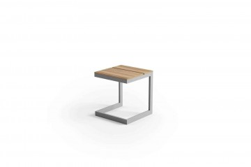 Садовый стол GRENADA TEAK серый