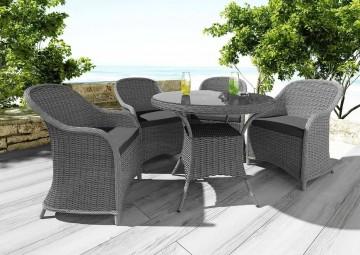 Мебель для балкона FILIP II + LEONARDO серый